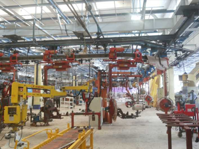 INDUSTRIAL PLANT MACHINERY SHIFTING